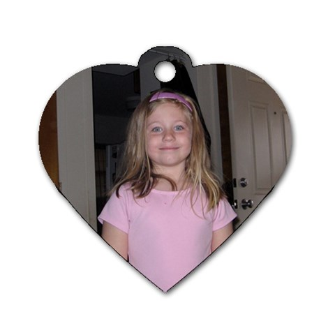 Piffy Heart By Melissa   Dog Tag Heart (one Side)   R317a65pp123   Www Artscow Com Front