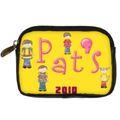 Pat s Ds Case By Pat   Digital Camera Leather Case   Uzen3e4uvd1r   Www Artscow Com Front