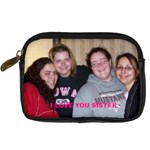 Sisters - Digital Camera Leather Case