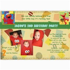 Birthday 2 By Jackie Romero   5  X 7  Photo Cards   Iq622syxb10z   Www Artscow Com 7 x5 Photo Card - 2