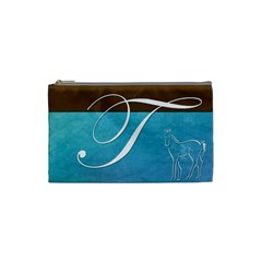 T s Cosmetic Bag By Deborah Mobley   Cosmetic Bag (small)   Uo5owfjgdvhj   Www Artscow Com Front