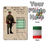 Up Front Italian Soldiers - Playing Cards 54 Designs