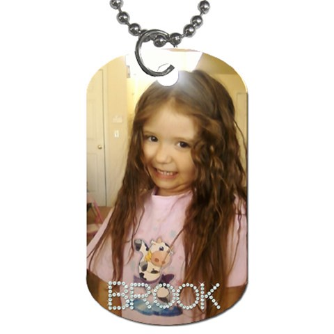 Brook By Amy Romero   Dog Tag (one Side)   G4pkle52adry   Www Artscow Com Front