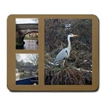 Boat Trip Mousemat  Easy Fit Frameless Frames - Large Mousepad
