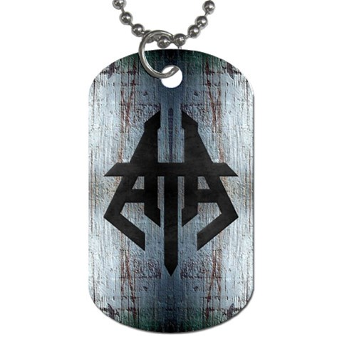 Htaa Dog Tag Necklace  newmet  By Rob Stangle   Dog Tag (one Side)   Taoco68oe0rm   Www Artscow Com Front