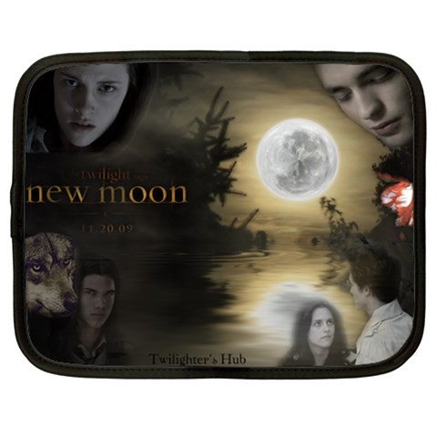 New Moon By Ro Elle   Netbook Case (large)   3vkuwc2wva9i   Www Artscow Com Front