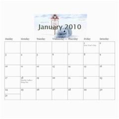 2010 Calendar By Anna Marie   Wall Calendar 11  X 8 5  (12 Months)   Tdugng6b3tzm   Www Artscow Com Jan 2010