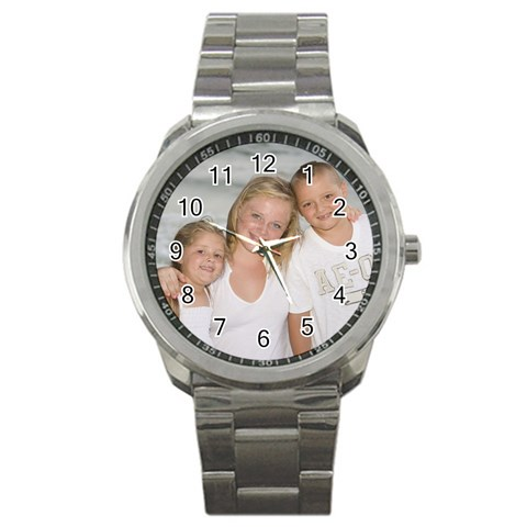 Watch By Stacy Ockerman   Sport Metal Watch   8w94qo2xzptu   Www Artscow Com Front