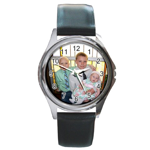 Easter By Jennifer Russ   Round Metal Watch   Ulovoexts6by   Www Artscow Com Front