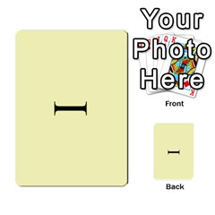 Book Of Mormon Flash Cards By Jessica Navarro   Multi Purpose Cards (rectangle)   2961tpdxf2on   Www Artscow Com Back 1