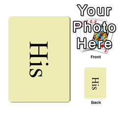 Book Of Mormon Flash Cards By Jessica Navarro   Multi Purpose Cards (rectangle)   2961tpdxf2on   Www Artscow Com Back 16