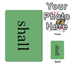 Book Of Mormon Flash Cards By Jessica Navarro   Multi Purpose Cards (rectangle)   2961tpdxf2on   Www Artscow Com Front 29