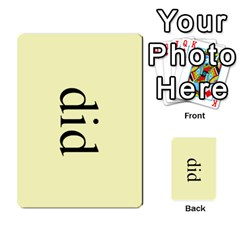 Book Of Mormon Flash Cards By Jessica Navarro   Multi Purpose Cards (rectangle)   2961tpdxf2on   Www Artscow Com Front 30