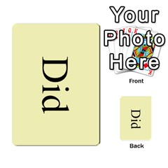Book Of Mormon Flash Cards By Jessica Navarro   Multi Purpose Cards (rectangle)   2961tpdxf2on   Www Artscow Com Back 30