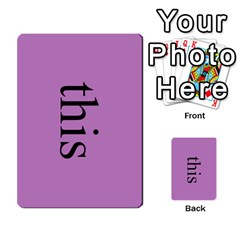 Book Of Mormon Flash Cards By Jessica Navarro   Multi Purpose Cards (rectangle)   2961tpdxf2on   Www Artscow Com Front 39