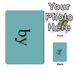 Book Of Mormon Flash Cards By Jessica Navarro   Multi Purpose Cards (rectangle)   2961tpdxf2on   Www Artscow Com Front 40