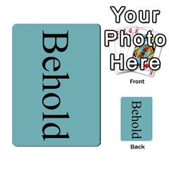 Book Of Mormon Flash Cards By Jessica Navarro   Multi Purpose Cards (rectangle)   2961tpdxf2on   Www Artscow Com Back 42