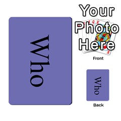 Book Of Mormon Flash Cards By Jessica Navarro   Multi Purpose Cards (rectangle)   2961tpdxf2on   Www Artscow Com Back 43