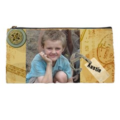 This Is For Austin To Put His Vacation Money In    By Tausha   Pencil Case   T6x8dt6quyg4   Www Artscow Com Front
