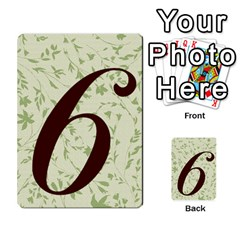 Alpha Cards By Carissa   Multi Purpose Cards (rectangle)   Gtwlzpnfqmce   Www Artscow Com Back 51