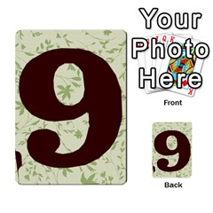 Alpha Cards By Carissa   Multi Purpose Cards (rectangle)   Gtwlzpnfqmce   Www Artscow Com Back 54