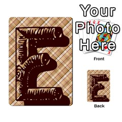 Alpha Cards By Carissa   Multi Purpose Cards (rectangle)   Gtwlzpnfqmce   Www Artscow Com Front 9