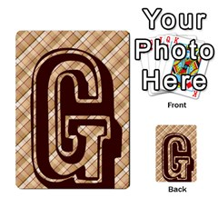 Alpha Cards By Carissa   Multi Purpose Cards (rectangle)   Gtwlzpnfqmce   Www Artscow Com Front 12