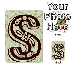 Alpha Cards By Carissa   Multi Purpose Cards (rectangle)   Gtwlzpnfqmce   Www Artscow Com Back 32