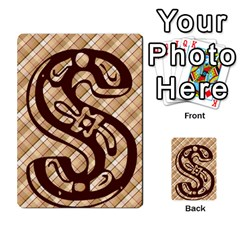 Alpha Cards By Carissa   Multi Purpose Cards (rectangle)   Gtwlzpnfqmce   Www Artscow Com Front 33