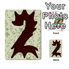 Alpha Cards By Carissa   Multi Purpose Cards (rectangle)   Gtwlzpnfqmce   Www Artscow Com Back 47
