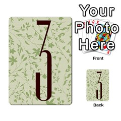 Alpha Cards By Carissa   Multi Purpose Cards (rectangle)   Gtwlzpnfqmce   Www Artscow Com Back 48
