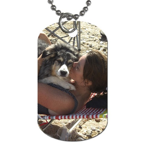 Zowee By Kassi   Dog Tag (one Side)   W8jll2zkaglb   Www Artscow Com Front