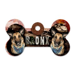 Bronxtag By Lily Hamilton   Dog Tag Bone (two Sides)   0lbodpq0vmey   Www Artscow Com Front