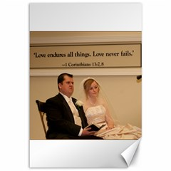 2 Canvases   Wedding Ceremony Pics By Brandon Hauser   Canvas 12  X 18    Smv2bf8gzajb   Www Artscow Com 18 x12 Canvas - 1