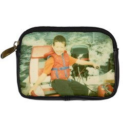 Boat Camera Case By Pat   Digital Camera Leather Case   K8nadm2wjko5   Www Artscow Com Front