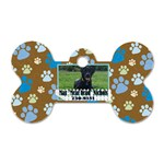 Max s collar tag - Dog Tag Bone (One Side)