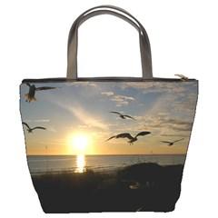 Seagulls By Mary Stewart   Bucket Bag   W0768v8mlhpu   Www Artscow Com Back