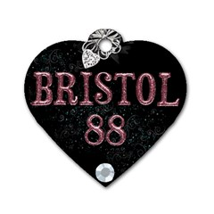 Bristol Tag By Lily Hamilton   Dog Tag Heart (two Sides)   Tizs42rtgml4   Www Artscow Com Back