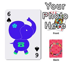 Elephant Cards By Jyothi   Playing Cards 54 Designs   Hfuh4jsmazv4   Www Artscow Com Front - Spade6