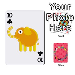 Elephant Cards By Jyothi   Playing Cards 54 Designs   Hfuh4jsmazv4   Www Artscow Com Front - Club10