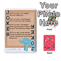 Elephant Cards By Jyothi   Playing Cards 54 Designs   Hfuh4jsmazv4   Www Artscow Com Front - Joker1