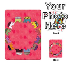 Elephant Cards By Jyothi   Playing Cards 54 Designs   Hfuh4jsmazv4   Www Artscow Com Back