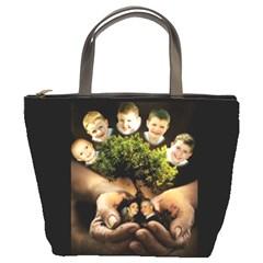 By Shari Nichols   Bucket Bag   L4fpychy681y   Www Artscow Com Front