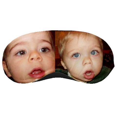Twins Eyes By Nancy L Miller   Sleeping Mask   Aw26k0i0h6js   Www Artscow Com Front