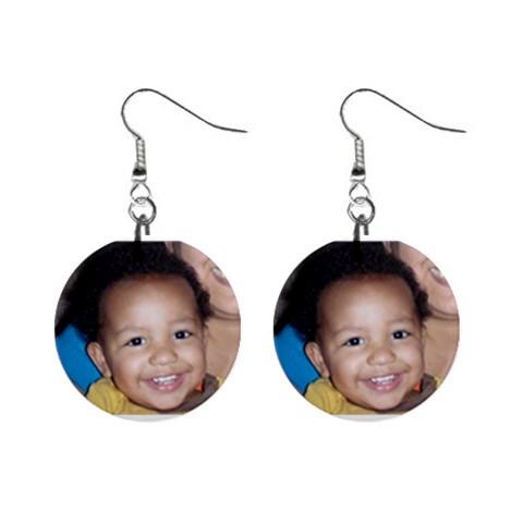Julián Earrings By Esperanza Dodge   1  Button Earrings   V41guobnk6kx   Www Artscow Com Front
