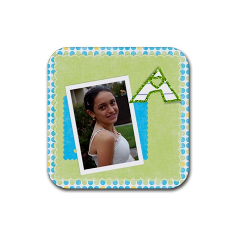 Alexa By Ariela   Rubber Coaster (square)   P0r73ryg18kg   Www Artscow Com Front