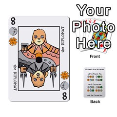 Decktet By Jared Frandson   Playing Cards 54 Designs   Dkoiurgx96ga   Www Artscow Com Front - Heart8