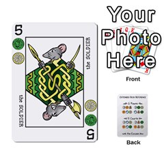 Decktet By Jared Frandson   Playing Cards 54 Designs   Dkoiurgx96ga   Www Artscow Com Front - Diamond3