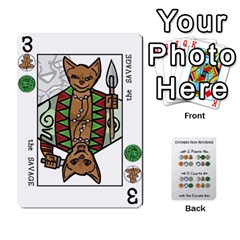 Decktet By Jared Frandson   Playing Cards 54 Designs   Dkoiurgx96ga   Www Artscow Com Front - Diamond9