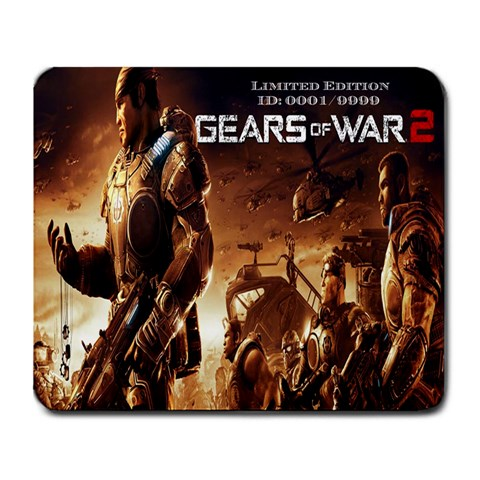 Gears Of War 2 By Alexander Stephens   Large Mousepad   Z9mpicyha9sv   Www Artscow Com Front